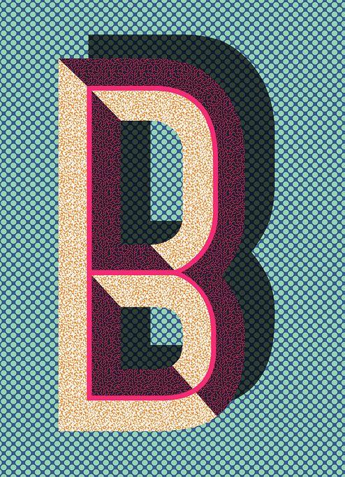 B, print ★ iPhone wallpaper