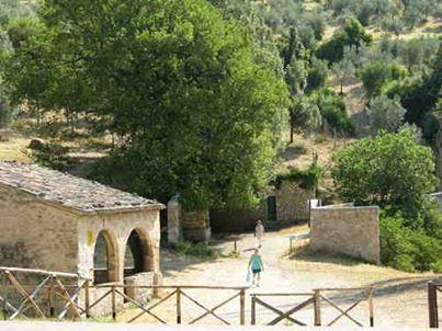 Foligno - Sassovivo, cripta del Beato Alano