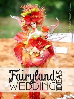 fairyland wedding ideas, crafts