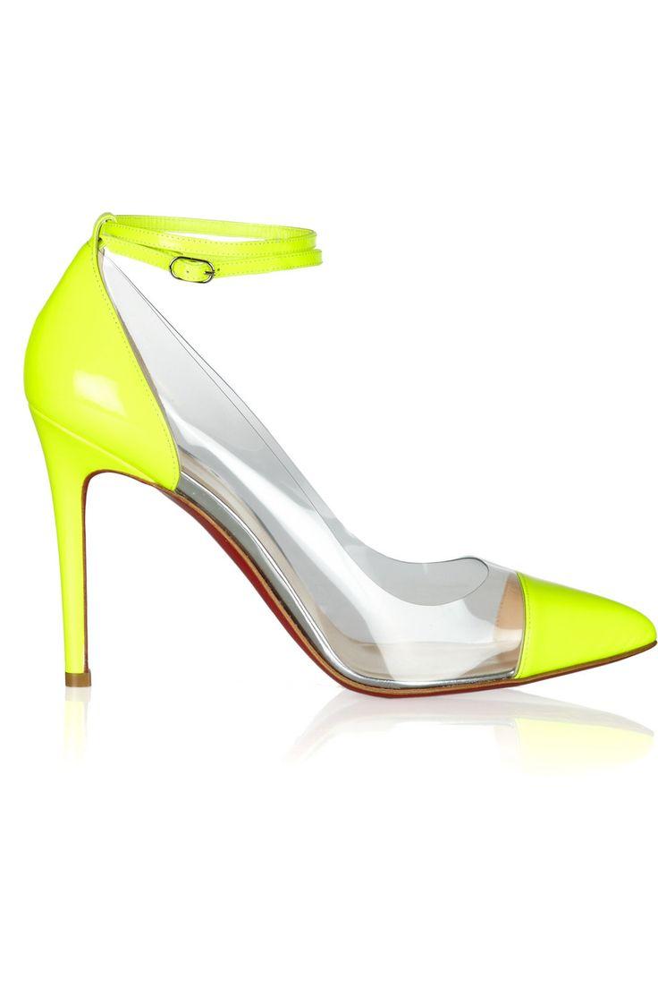Louboutins: Christians, Patent Leather, Fashion, Louboutin Bis, Christian Louboutin Shoes, 100Mm Pumps, Pvc Pumps, 100Mm Patent, Louboutin Pumps