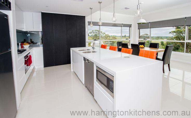 Polyurethane Kitchen - Harrington Kitchens