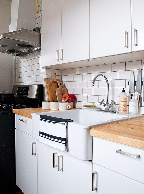grace's kitchen makeover via @Design*Sponge