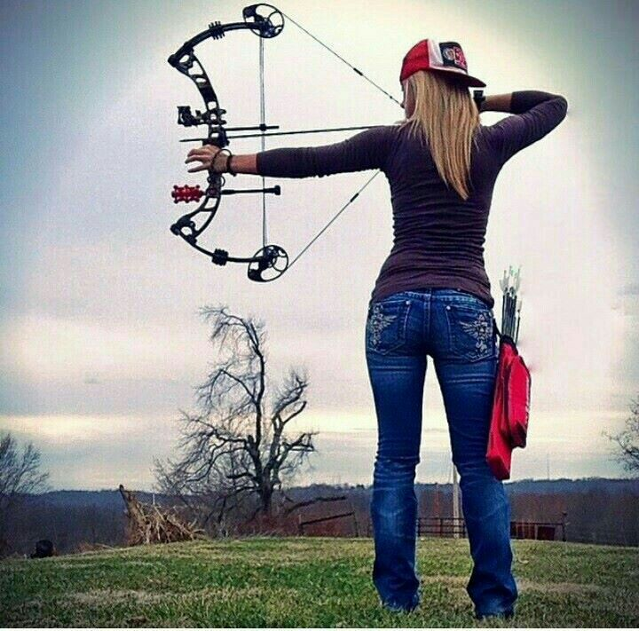 Pin By Meggan Tuttle On Hunting Bow Hunting Women