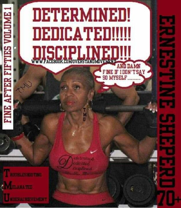 Ernestine Shepherd my Favorite Athlete!