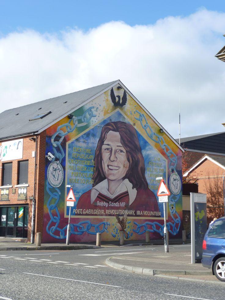 As 25 melhores ideias de belfast ireland no pinterest for Bobby sands mural belfast