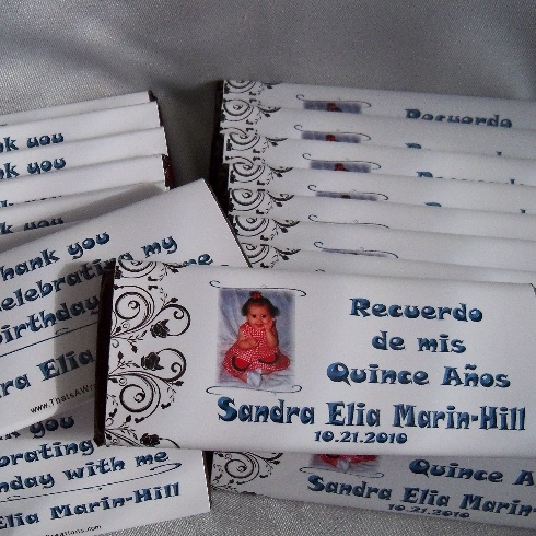 Quinceanera favors ideas
