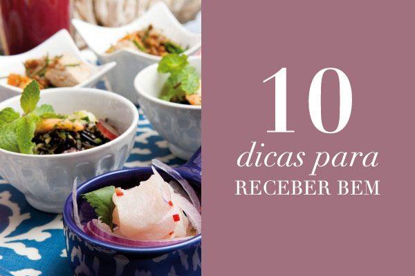10 dicas para organizar uma festa em casa e receber bem!