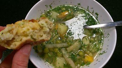 Mój zbiór przepisów kulinarnych-  wyszukane w sieci: Zupa jarzynowa na początek lata