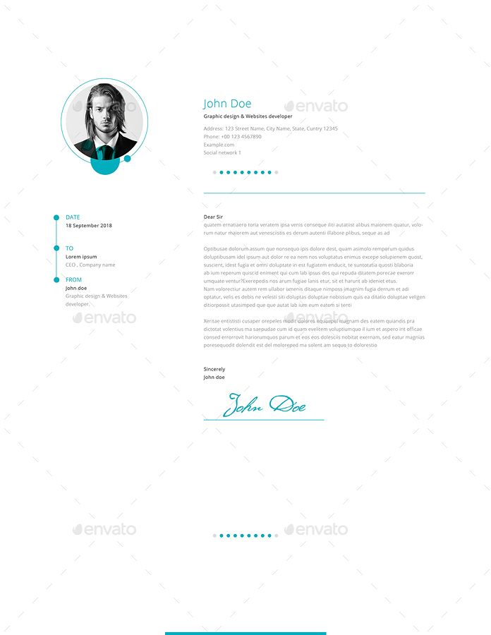 Resume and Cover Letter #Resume, #Cover, #Letter | Cover ...