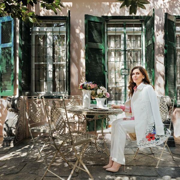 Κατερίνα Διδασκάλου: Δείτε το φανταστικό σπίτι της ηθοποιού στην Ακρόπολη