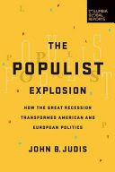 Is the West witnessing a huge political upheaval? This book examines the rise of Bernie Sanders in the United States, the United Kingdom's vote to leave the European Union, and Donald Trump's selection as presidential nominee of the Republican Party, as well as the electoral victory of diverse rebellious parties in Switzerland, Norway, Italy, Austria, and Greece. The author traces the trajectory of modern populism, beginning in the United States in the 1890s.