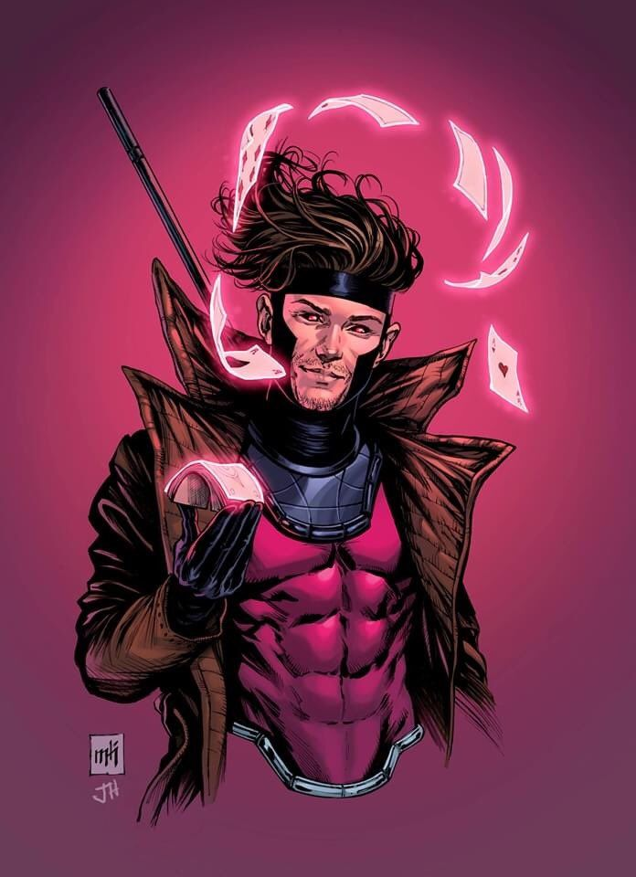Gambit By Mike Krome And Jesse Heagy Marvel Comics Art Gambit Marvel Marvel Xmen