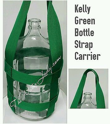 3 Gallon Tall Water Bottle Strap Carrier RED or PICK COLOR/BOTTLE NOT INCLUDED