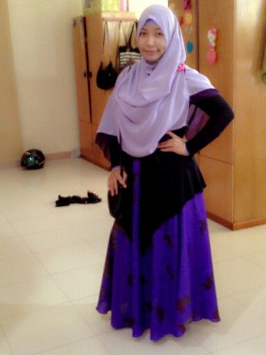 Purple colourfull