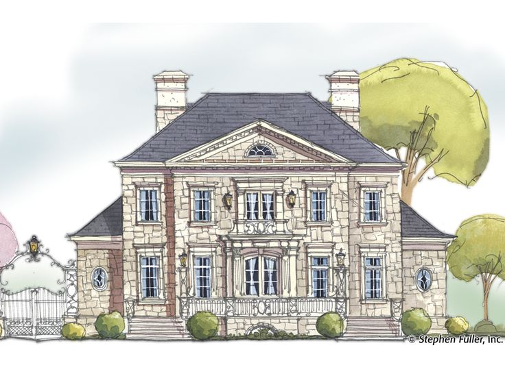 stephen fuller french country house plans - house design plans