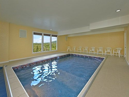 Pool And Theater Lodge - This 8 bedroom cabin has it all! Indoor ...