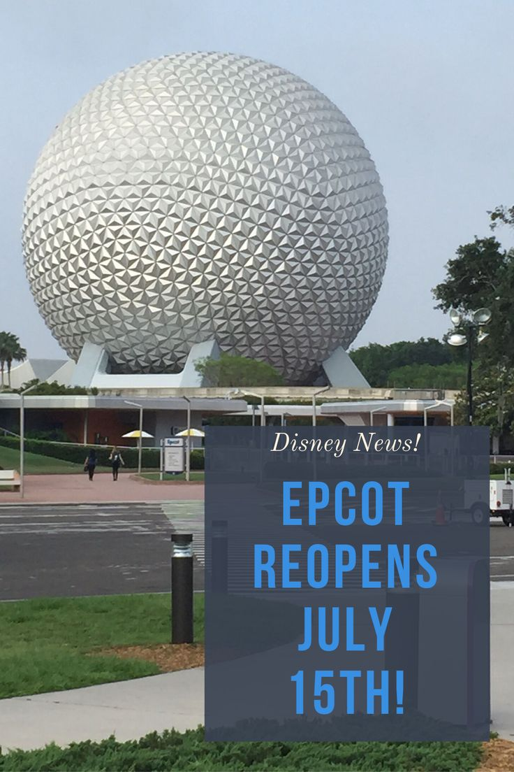 Breaking walt disney world theme park reopening dates in