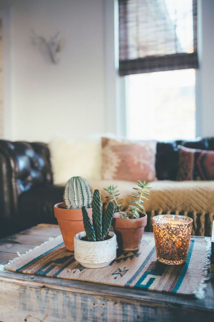 Apartment Living Room With Bohemian Decor Part 98