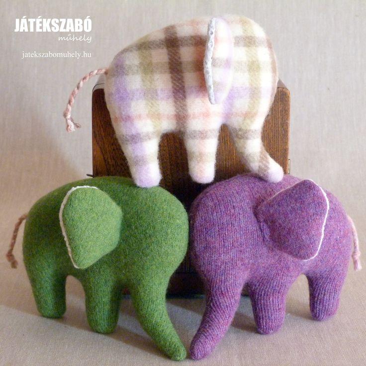 Gyapjú elefántok