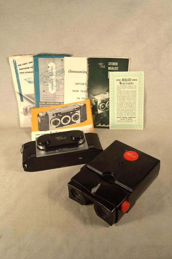 Stereo Camera 35 mm Slide Viewer Realist by SnapshotsThroughTime