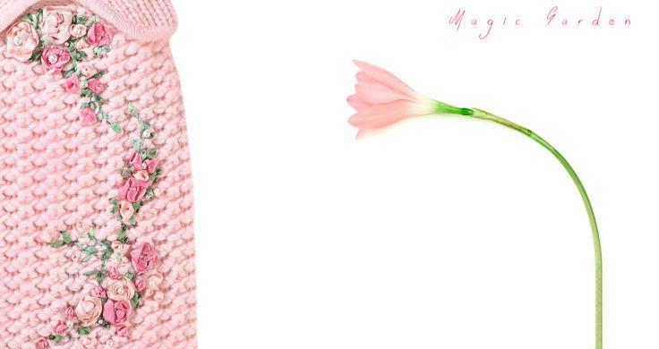 Hello Spring!  Magic Garden - Cashmere Clothes for Dogs #AlwaysMineMilano #fashion #cashmere #fashionista #stylish #glam #madeinitaly #milano #vogue #elle #luxury #インスタ #voguejapan #spring
