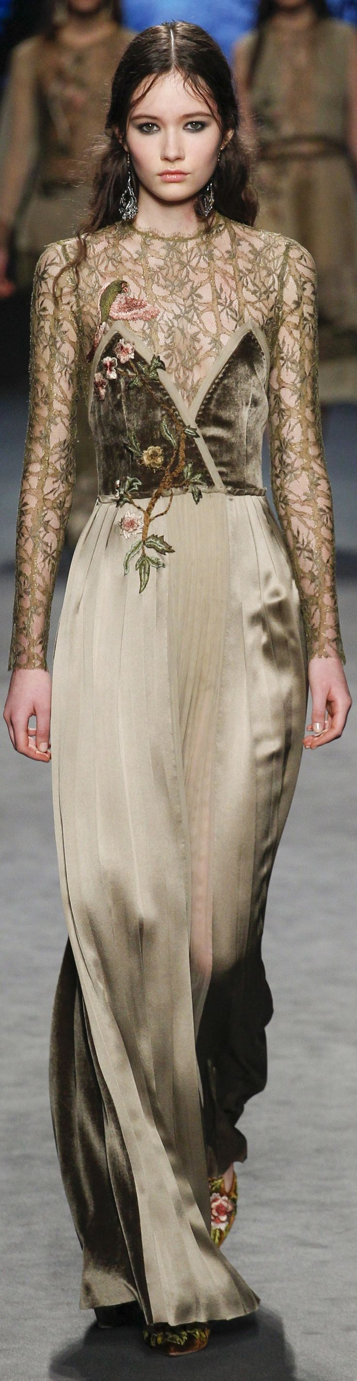 Alberta Ferretti ~ Fall 2016 ~ Ready-to-Wear