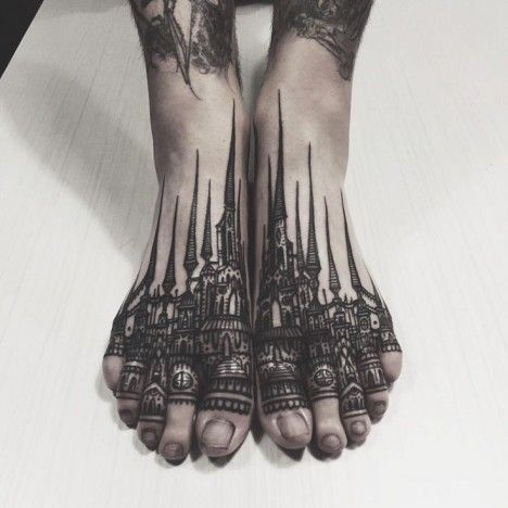 Permanent Markings: 13 Tattoo Artists with Bold Black Style