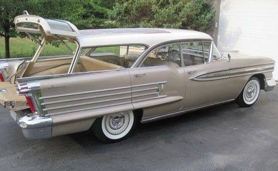 1958 Buick wagon ... Nice and roomy!