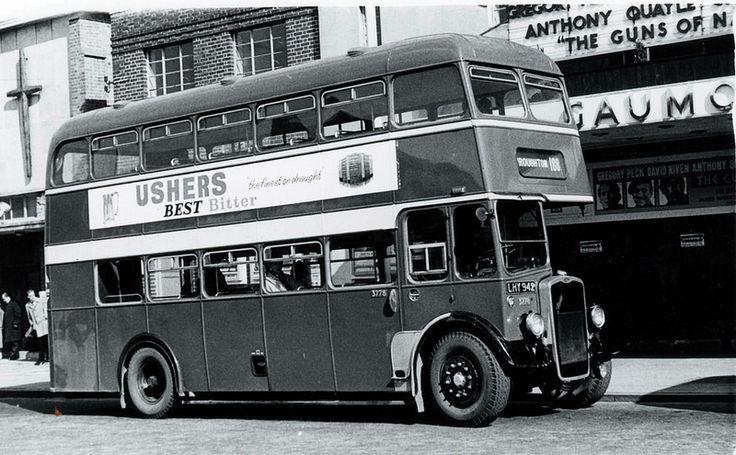 1961 Bristol vintage bus, Swindon, Wilts