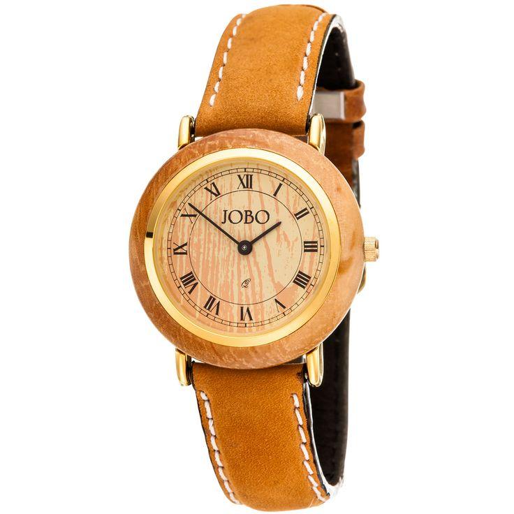 http://www.schmuckbieni.de/49848/jobo-damen-armbanduhr-mit-holz-quarz-analog-vergoldet-lederband-braun-damenuhr_16