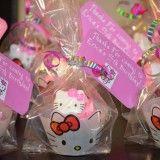 Lembrancinhas da Hello Kitty - Cupcake