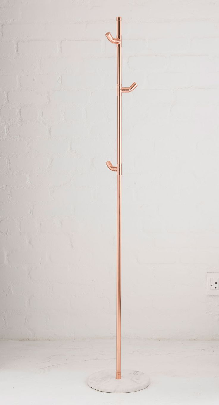 Contemporary copper coat stand                                                                                                                                                                                 More