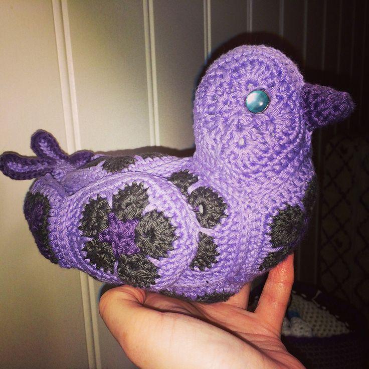 Ravelry: lenamor's Purple bird