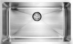 "fluid Model USR3219 Undermount Single Bowl Stainless Steel Kitchen Sink.  Overall Size 32"" x 19"" x 9""."