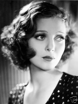 LORETTA YOUNG Hollywood 1930's Movie Star Actress (lighting)