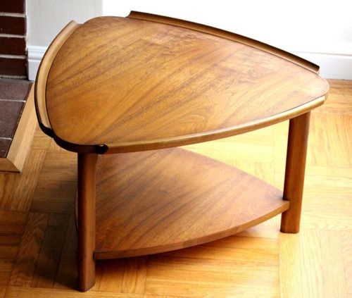 San Diego: Mid Century Modern  Lane  Walnut Guitar Pick Shaped End Table  $225   Http://furnishlyst.com/listings/614479 | San Diego Listings |  Pinterest ...