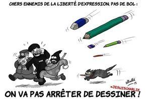 """Attentat contre """"Charlie Hebdo"""" : huit ans de caricatures et de menaces - Le Point"""