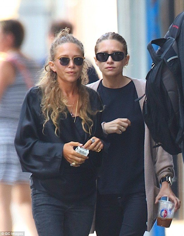 Making their mark: The curators explained that they believe the Olsen twins are icons for building a fashion empire and 'when they are in the press it's because they were smoking at the Met Gala or something'