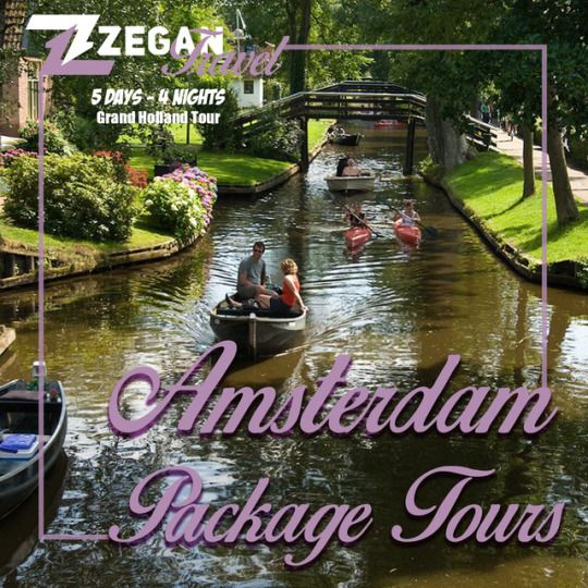 Amsterdam Package Tours (5 days - 4 nights)  *Grand Holland Tour, Keukenhof Tour & Countryside, Windmills Tour, Giethoorn & Volendam Tour  *Airport Transfers  *Guided Daily Tours  Contact us now info@zegantravel.com  http://www.zegantravel.com/Amsterdam-Package-Tours  #netherlands #amsterdam #tour #travel #holland #keukenhof #countryside #windmills #giethoorn #volendam