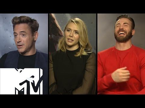 Avengers: Age of Ultron Cast Play Would You Rather? (Avengers Edition) - YouTube