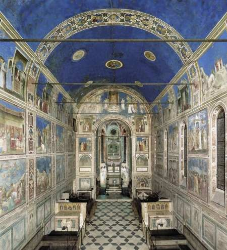 Detailed information about the Arena Chapel frescoes