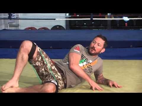 John Kavanagh MMA Injury Prevention Exercises   Speed Bands