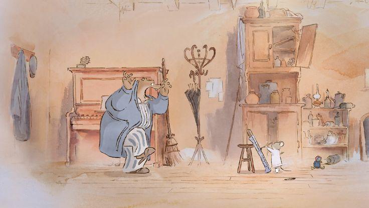 Ernest et Célestine (2012); Directed by Stéphane Aubier, Vincent Patar, Benjamin Renner