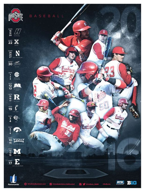 PosterSwag.com 2016 College Baseball Poster Rankings. #sportsbiz #smsports