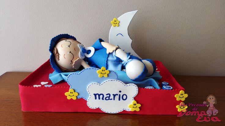 Moldes de Fofucho Bebé Dormido Mario.    En la entrada de mi blog: http://mispecosasdegomaeva.blogspot.com.es/2016/04/fofucho-bebe-dormido-mario-moldes.html