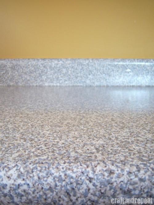 Encimera Transformación ... papel de contacto de granito