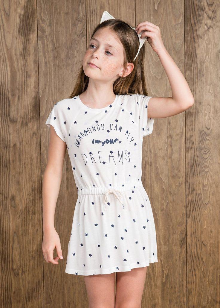 NEW - Star print dress