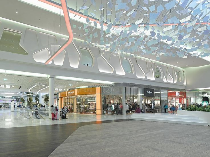 Saint-Gobain solutions were used to equip the 154,000 square-meter Cerný Most shopping center near Prague. Ecophon supplied materials for the car  parks, a cinema and a bank. Weber systems were used for  external wall insulation, while ISOVER insulation solutions were deployed for fire-resistant partition walls and ceilings.  Lastly, Rigips plasterboard was chosen to clad the main arteries of the shopping center.