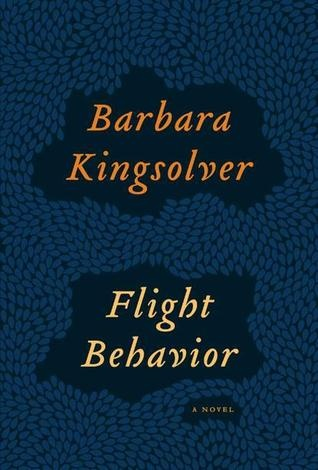 Flight Behavior by Barbara Kingsolver -   Set in a small town in Tennessee, about a young woman who happens upon a forested valley filled with silent red fire, and whose attempt to share the wonder and find an explanation throws her into a spiraling confrontation with her family, her church, her town, her continent, and finally the world at large.