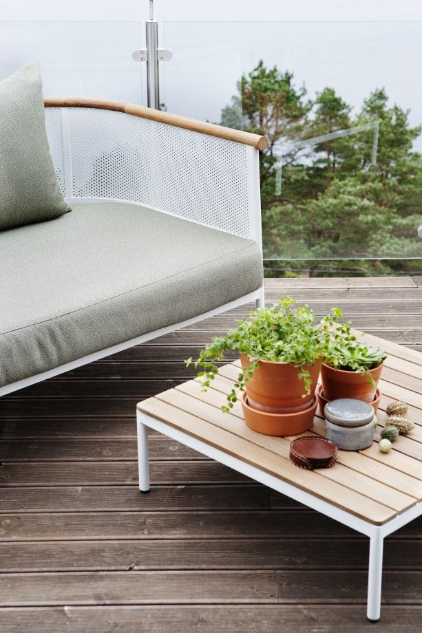 Oasiq - Collection Riad, canapé outdoor et table basse